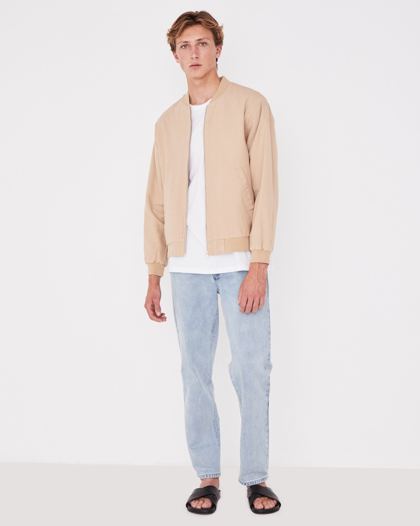 Canvas Bomber Dover