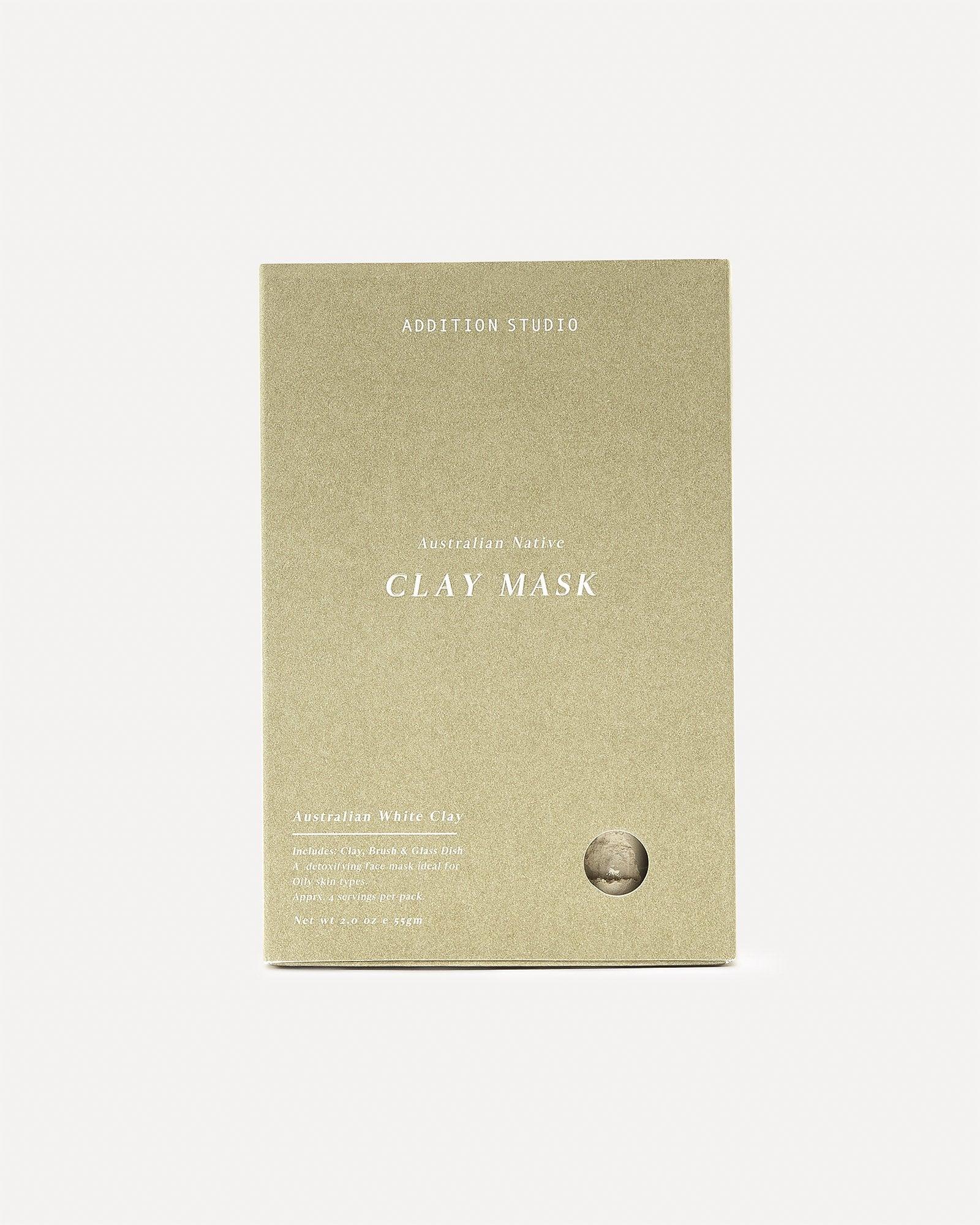 Addition Studio Clay Mask Est Beige