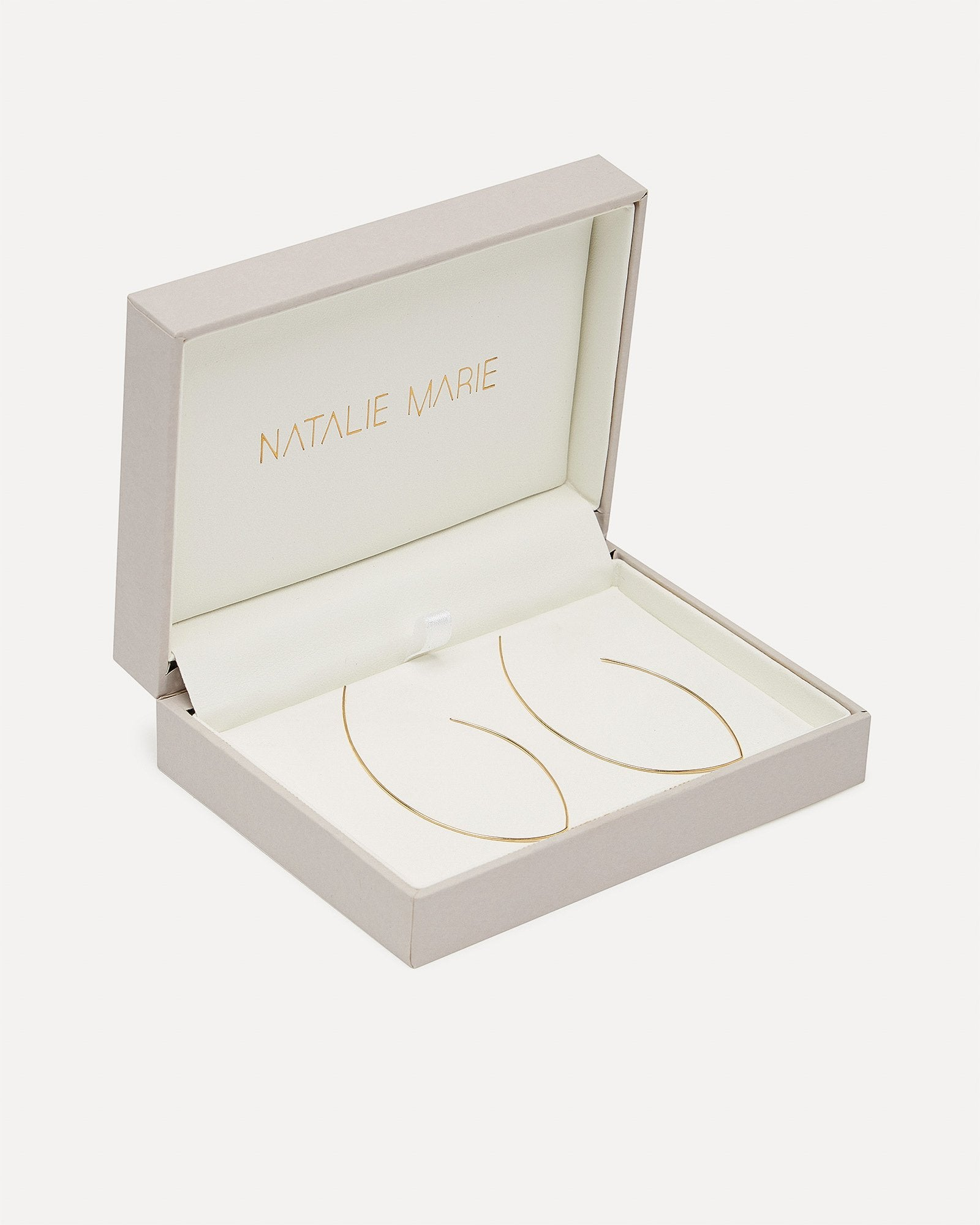 Oval Ear Hoops Natalie Marie