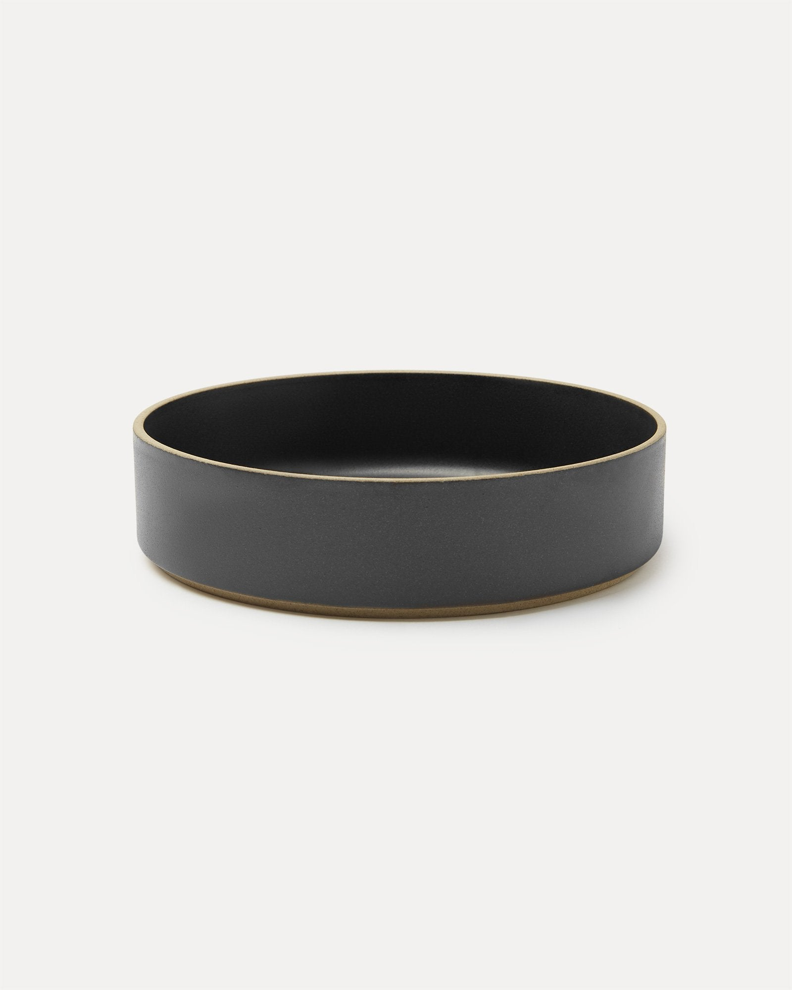 Hasami Porcelain Serving Bowl Black
