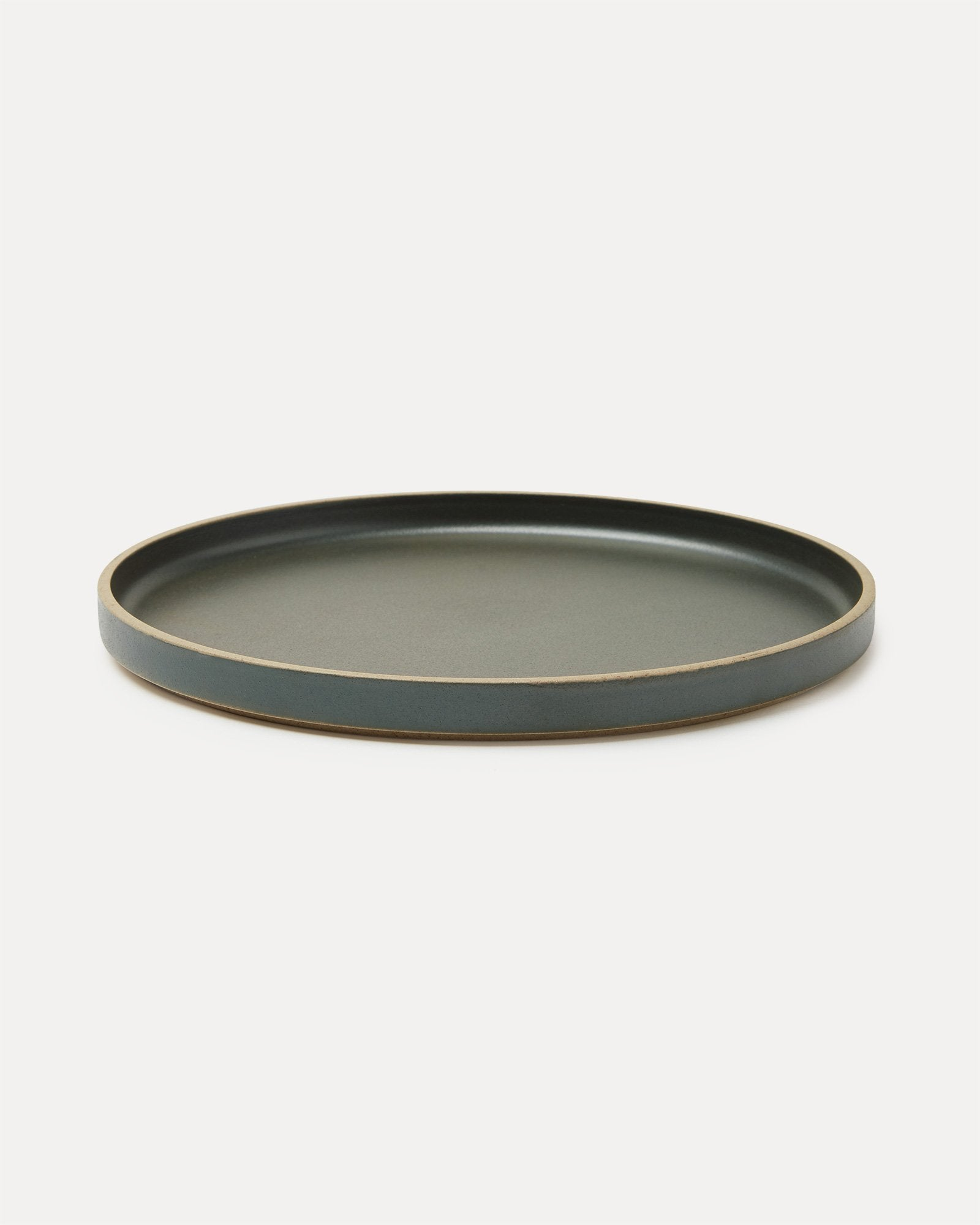 Hasami Porcelain Dinner Plate Black
