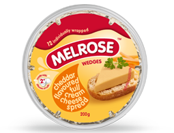 Melrose Cheese Wedges 200g Cheddar