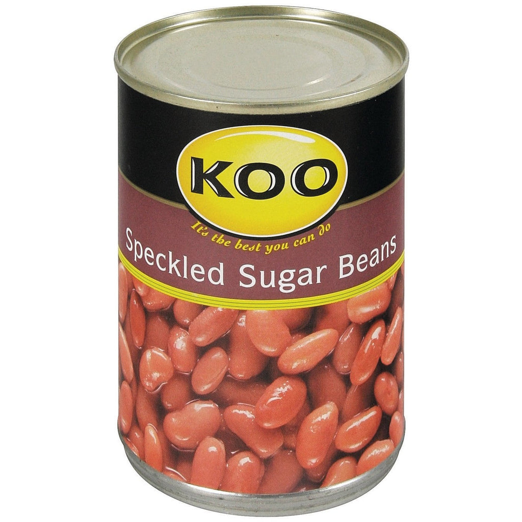 Koo Sugar Beans Speckled 410g