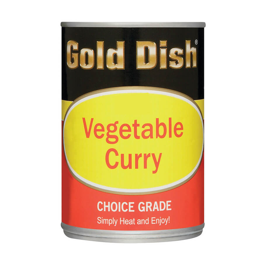 Pakco Gold Dish Vegetable Curry 415g