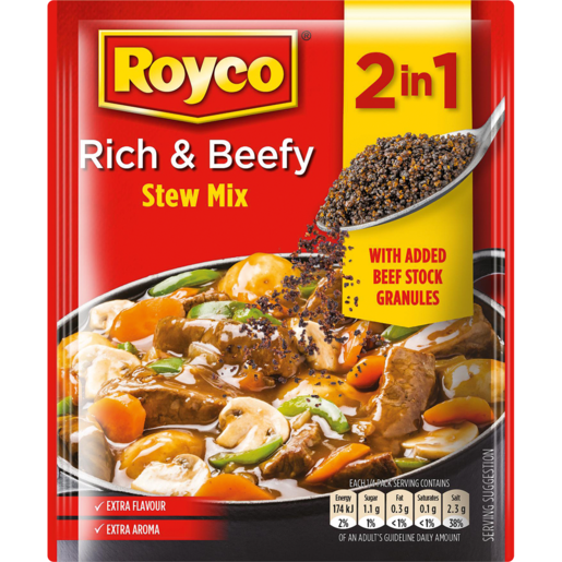 Royco 2 in 1 Stew Mix 50g