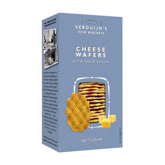 Verduijn's Cheese Wafers 75g