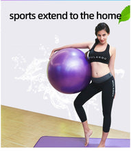 Load image into Gallery viewer, Sports Yoga Balls Pilates Fitness Gym Balance Fitball Exercise Training Workout Massage Ball 55cm 65cm 75cm without pump