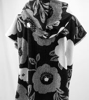 Floral Velour Ponchos - Design2Change
