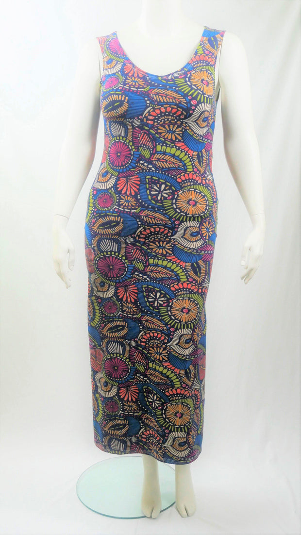 Maxi Dress Long Geometric - Design2Change