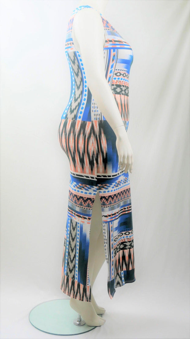Maxi Dress Long Persian Printed - Design2Change
