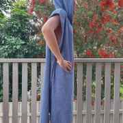 Blank  Blue Towel Adaptive Poncho Unisex - Design2Change