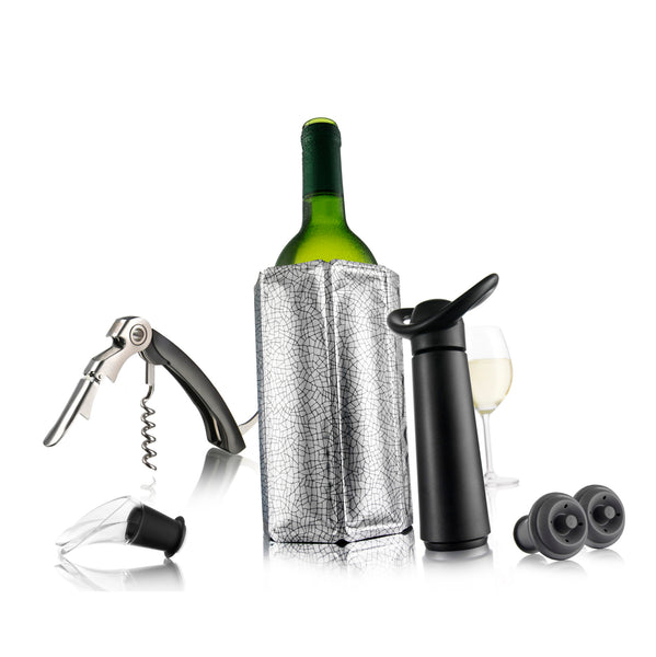 Set 6pz Wine Essential Vacu Vin