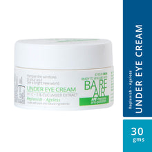 Load image into Gallery viewer, Under Eye Cream 30gm (with Vitamin C + E, Cucumber & Caffeine Extracts)