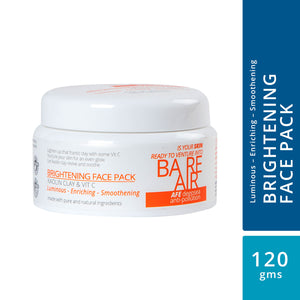 BareAir Face Pack with Kaolin Clay & Vitamin C