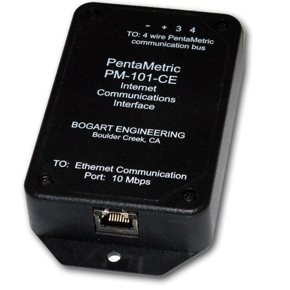 Pentametric Battery Monitor PM-101-CE Ethernet Computer Interface