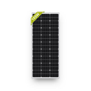 Newpowa 105 Watt Mono-crystalline Silicon Solar Panel - High Current