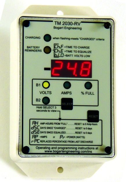 Trimetric TM-2030-RV Battery monitor