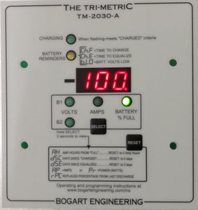 Bogart Engineering Trimetric TM-2030-A Battery monitor