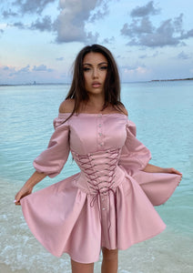 DUCHESS Pink Dress