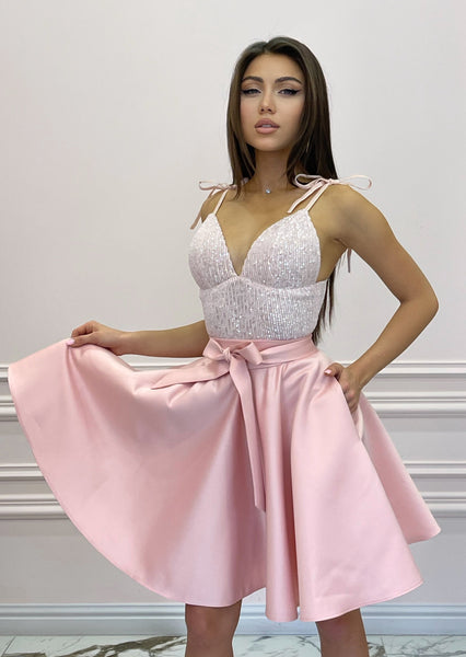 BonBon Powder Pink Dress