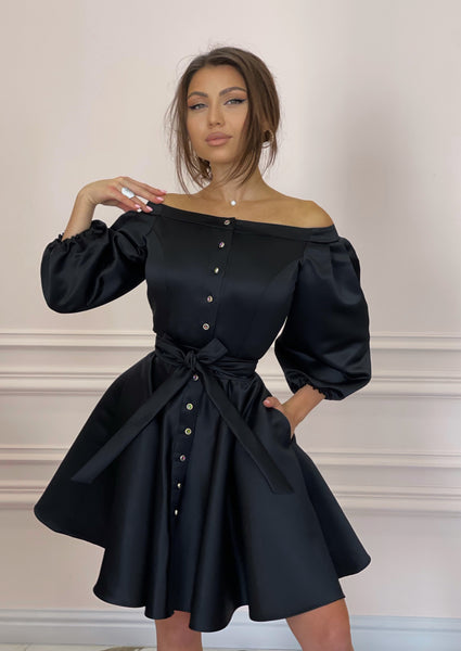 DUCHESS Black Dress