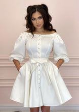 Load image into Gallery viewer, DUCHESS White Dress