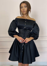 Load image into Gallery viewer, DUCHESS Black Dress