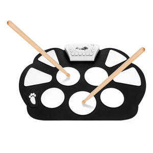 DigitalLife MT010-B Roll Up Drum Kit with Record Function
