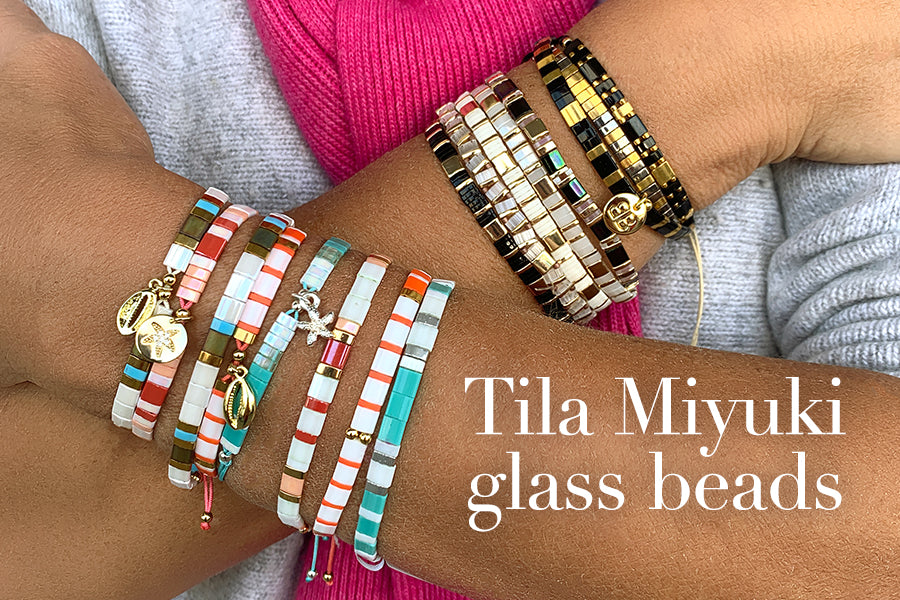 What makes Tila Miyuki Glass Beads so special?