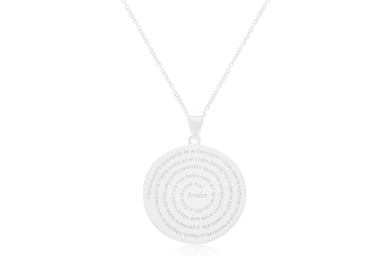 Mini Atlantic Sterling Silver Disc Necklace - Boho Betty
