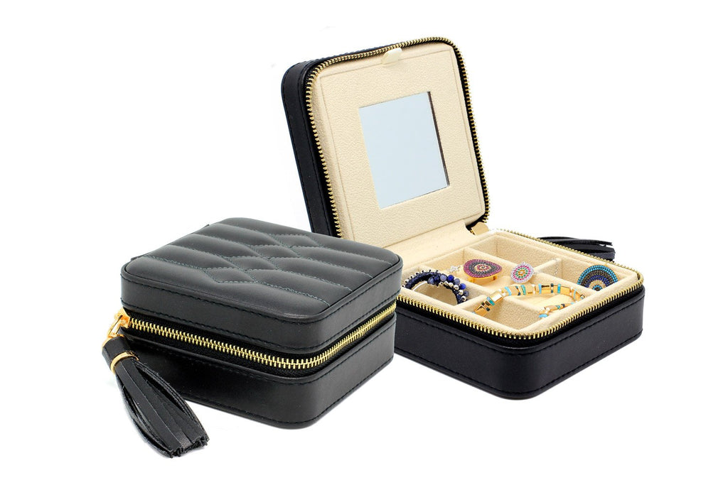 Boboli Black Jewellery Box - Boho Betty USA