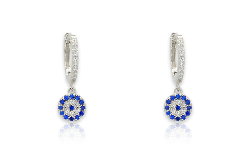 Balan Silver & CZ Drop Earrings - Boho Betty
