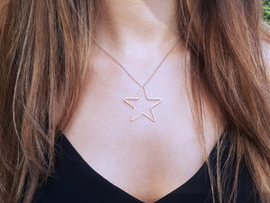Fino Sterling Silver Star Necklace - Boho Betty