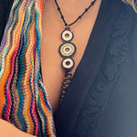 Hecate Seed Bead Grey Necklace - Boho Betty