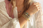 Lucerne Gold 6 Layered Bracelet Stack - Boho Betty