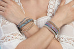 Time Warp 3 Wrap Bracelet - Boho Betty