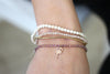 Lavolta Rose Gold Stretch Bracelet - Boho Betty