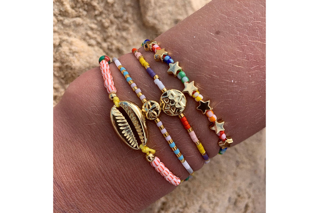 Mount Athos 3 Layer Bracelet Stack - Boho Betty USA
