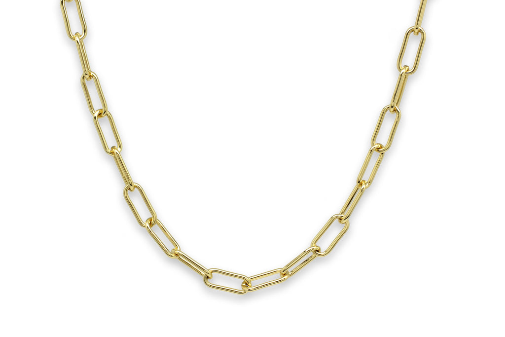 Notus Gold Chunky Chain Medium Length Necklace