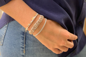 Tombak Multi Star Grey Bracelet