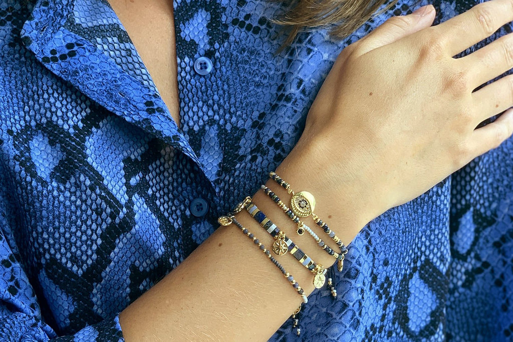 Las Vegas 4 Layered Bracelet Stack - Boho Betty