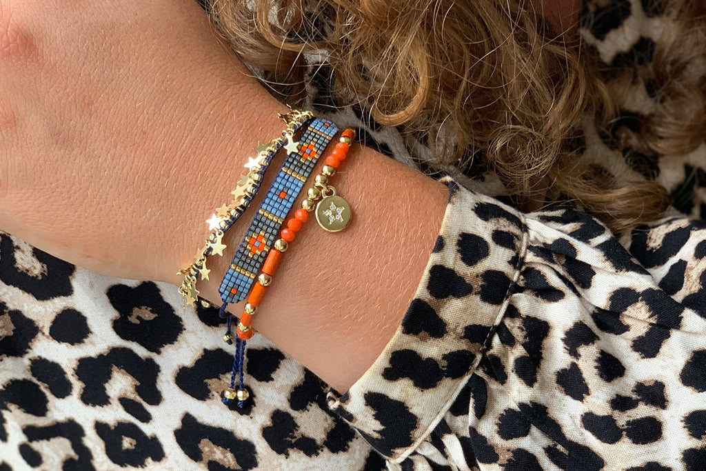 Bartica Gold 3 Layered Bracelet Stack - Boho Betty