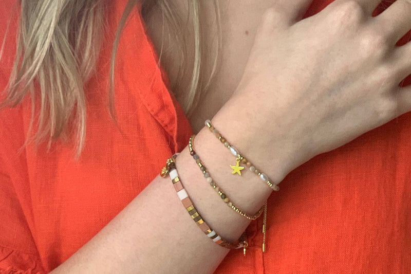 Hanalei Gold Friendship Bracelet - Boho Betty