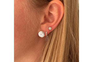 Arnes Silver Stud Earrings