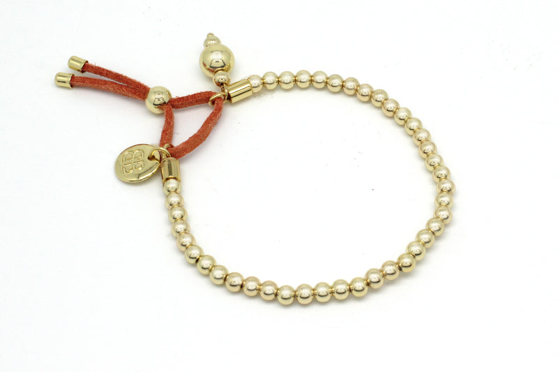 Karsilma Gold Stretch Bracelet - Boho Betty