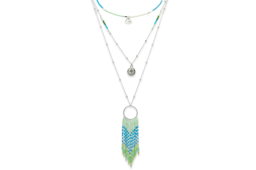 Niat Mint 3 Layering Necklace Set - Boho Betty