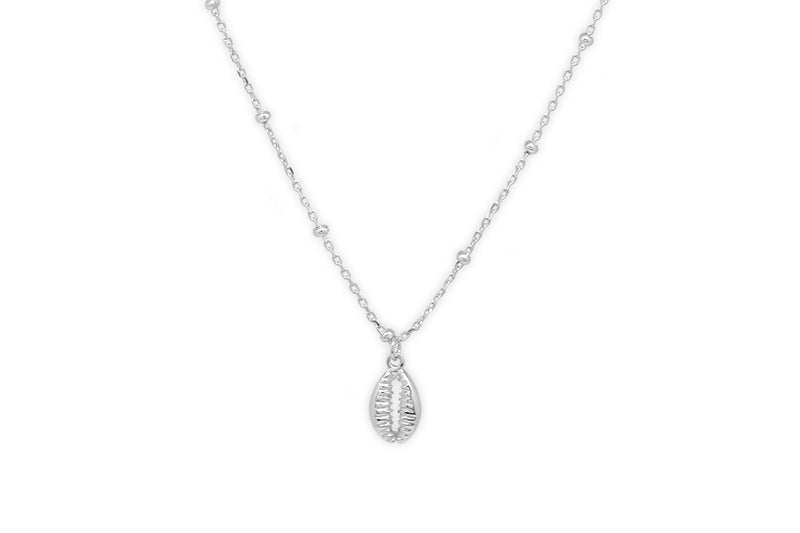 Bellini Sterling Silver Shell Necklace - Boho Betty