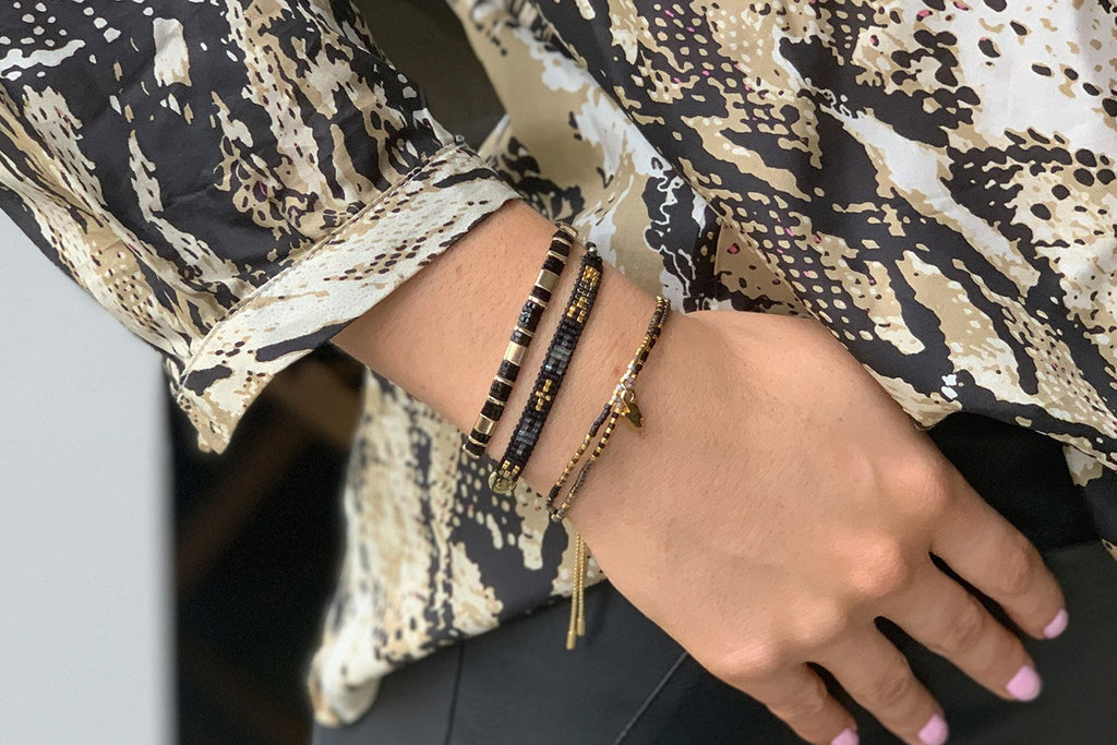 Rethymno 3 Layered Bracelet Stack - Boho Betty