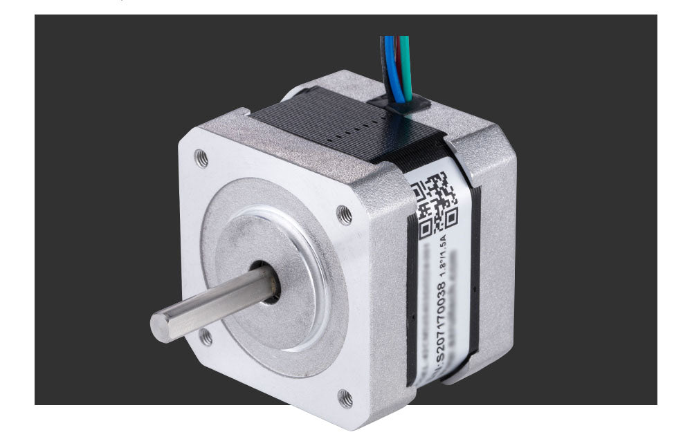 Laser cutter stepper motor