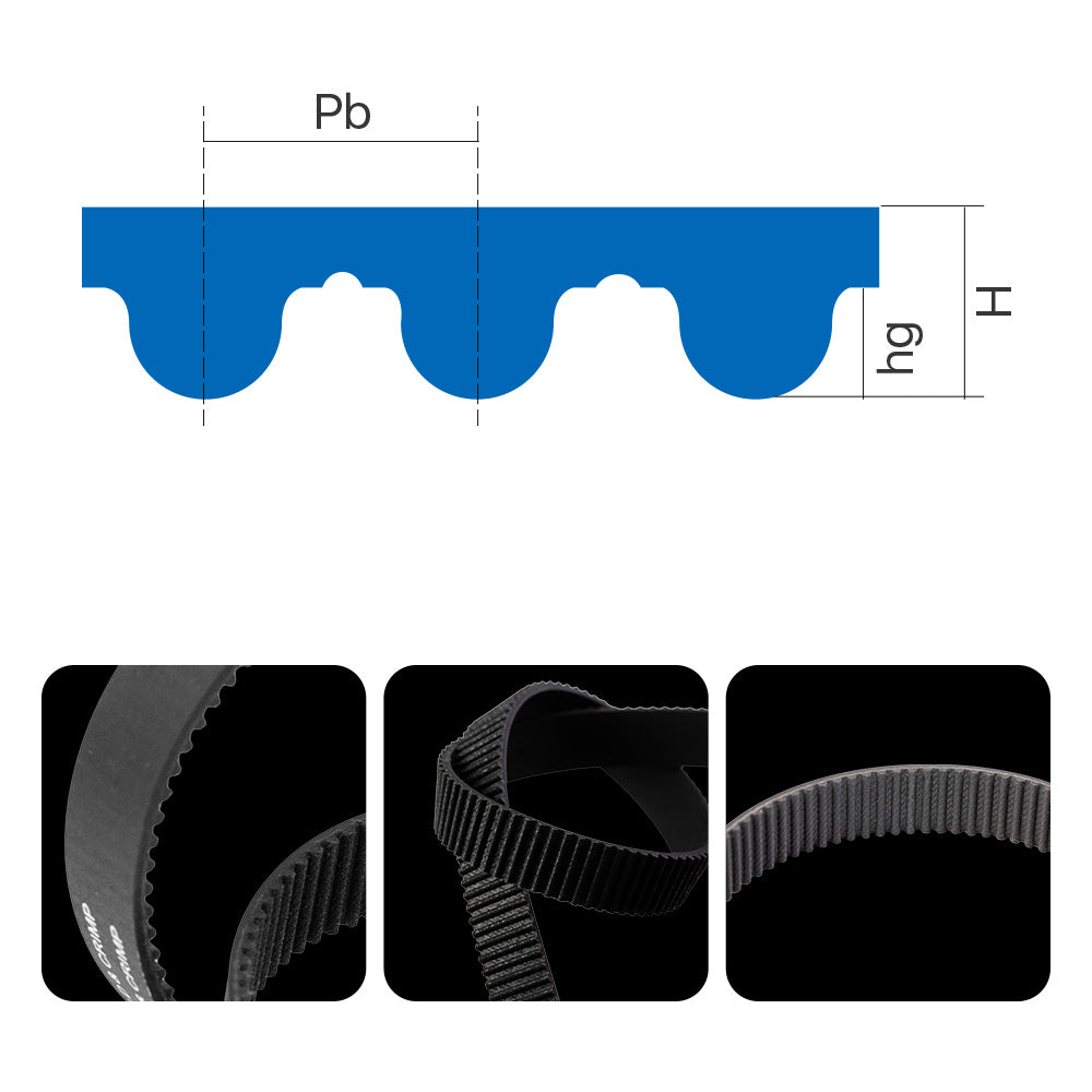 Cloudray HTD-5M Open-ended Timing Belt Width 15-40mm